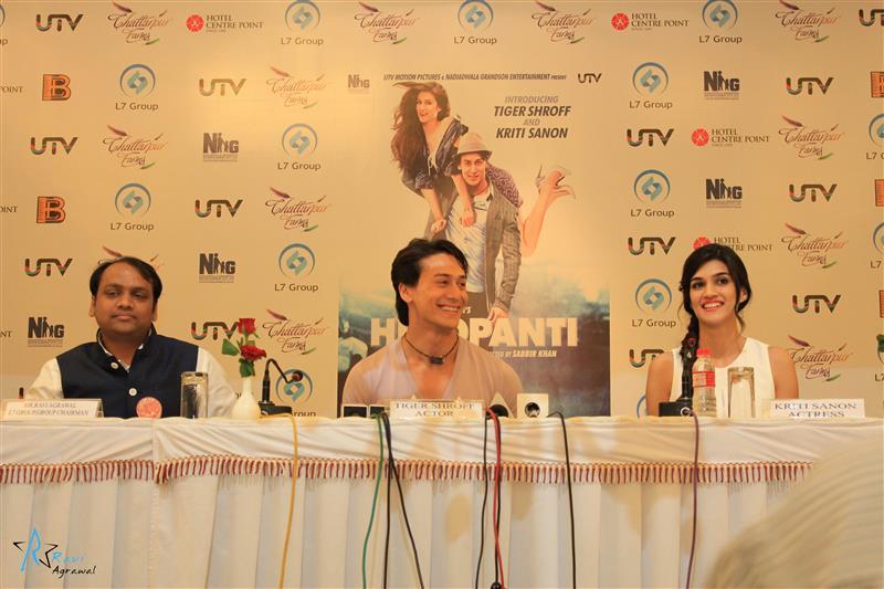 Ravi Agrawal, Tiger Shroff and Kriti Sanon