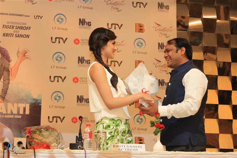 Ravi Agrawal and Kriti Sanon