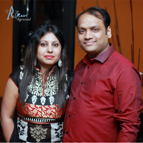 Mr. and Mrs. Ravi Agrawal